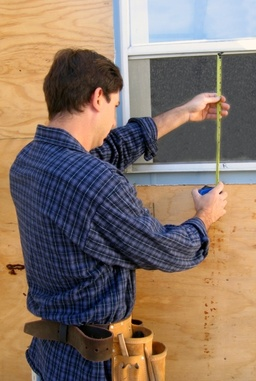 measuring misted window repair
