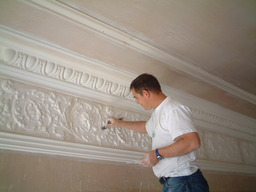 Cornice work at its best  call 01414232845