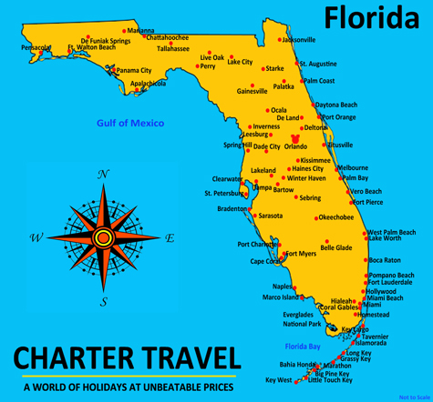 Details For Charter Travel Tailor Made Florida Holidays