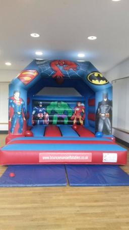 Superhero Castle for hire Bangor