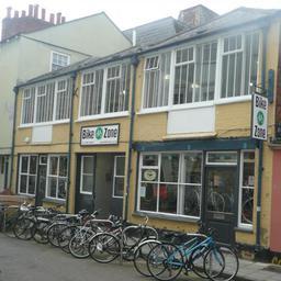 Bike Zone Oxford centre shop