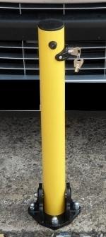 Fold Down Post Yellow