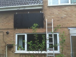 Thermodynamic Panel mounted outside