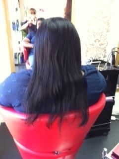 I hair before