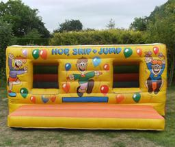 12x10 Hop skip & jump for toddles to 10yrs
