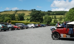 Large car park - ideal for club meets