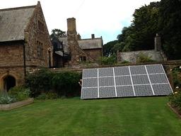 Bespoke Solar installation