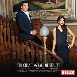 Dr Sach Mohan and Dr Sabika Karim, Hello magazine