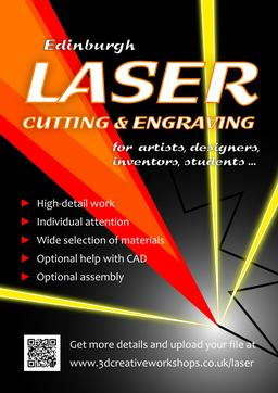 Laser Cutting Edinburgh, Laser Engraving Edinburgh