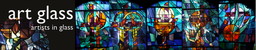Stained glass by Art glass New design and manufact