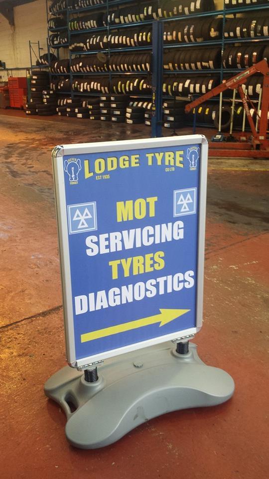 Details For Lodge Tyres Co Ltd In 9 Heathfield Way