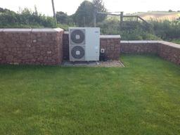 Hitachi Heat pump installed