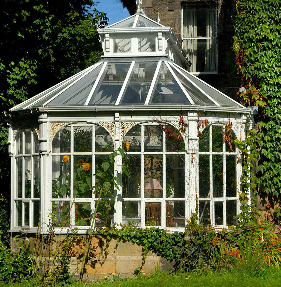 Details for ivy house in taylors farm parkside stoneygate for Victorian style greenhouse