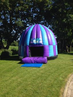 Purple Disco dome