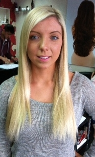 K hair after use full head hair extensions