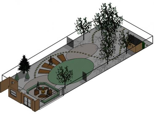 Details for anna mcarthur garden design in 1 chapmans for Garden design for disabled