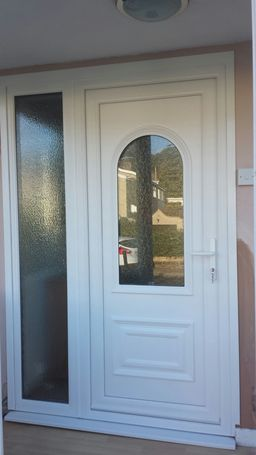 Top Quality and Security PVC Door