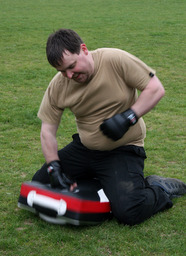 Having fun training