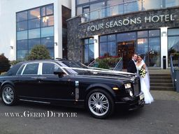 Phanthom Rolls Royce at a Carlingford wedding 2012