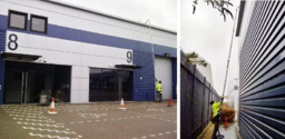 Commercial Gutter Cleaning Using Specialist Vac