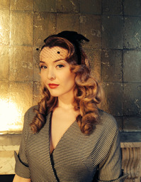 Hair & make up Lipstick and Curls