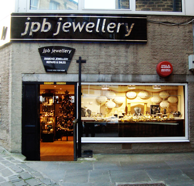 j p b jewellery in 3a half moon huddersfield west