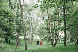hill gardens and pergola wedding