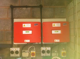 Commercial SMA solar inverters