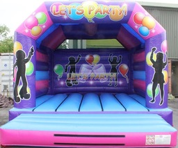 Adult bouncy castle for hire Holywood