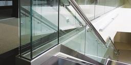 Nolan glass balustrade staircase web