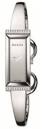 Gucci Ladies Stainless Steel Watch With Diamond