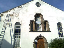 Exterior repainting of Burns Street Chapel