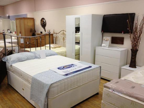 jackson bed centre in 8 queens court carrmere road. Black Bedroom Furniture Sets. Home Design Ideas