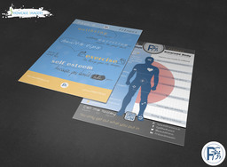 personal trainer flyer (design and print)