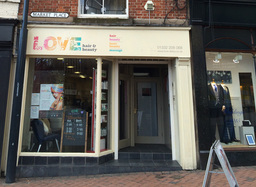 Our salon in the heart of Derby City Centre