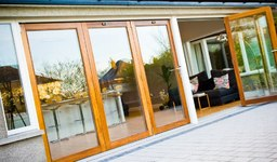 Timber Bi folding doors, timber bifolds