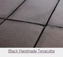 Black Handmade Terracotta Tiles
