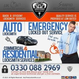 Anytime Locksmith Emergency