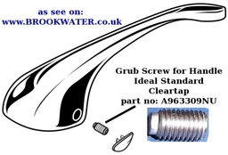A963309nu Grub Screw Cleartap Handle