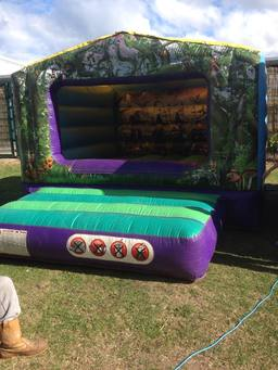 Fantasy Themed Bouncy Castle