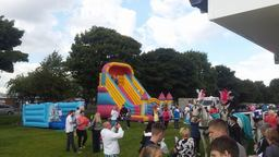 inflatable slide hire hartlepool, billingham, pete