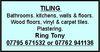 Tony Darby Tiling