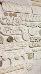 original plaster mouldings by Glasgow plasterers