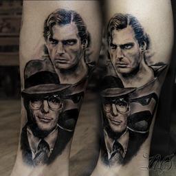 realistic tattoos , Stotker Tattoo, London