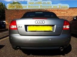 Audi A4 Convertable Rear Parking Sensors