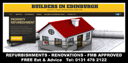 Property Renovations, Building services Edinburgh