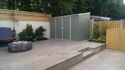 Finished back garden project by Aspects of Landsca