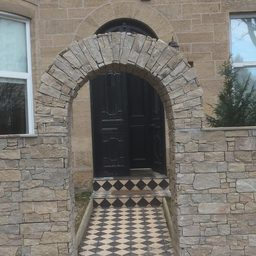 Stone archway in the West End
