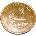 2014 1oz Krugerran Gold Coin