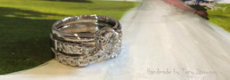 Handmade Wedding Ring by Tony Strowger